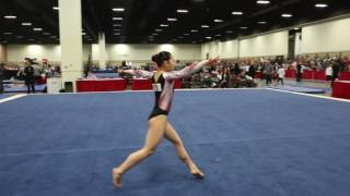 Sophia Groth - Floor Exercise - 2016 Women's Junior Olympic Championships