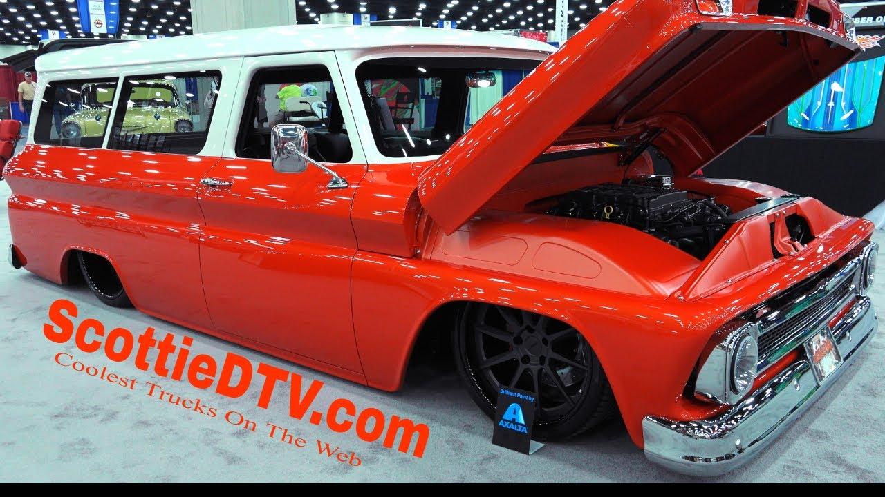 1966 Chevrolet Suburban Street Truck Debut 2018 NSRA Street Rod Nationals