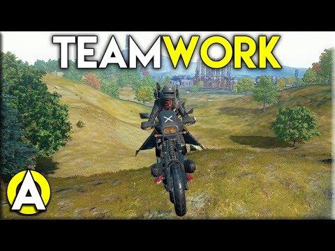 Duo Teamwork - PLAYERUNKNOWN'S BATTLEGROUNDS Duo Gameplay