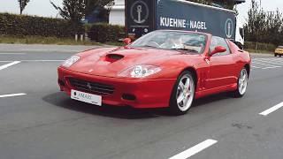 Ferrari 575 Superamerica On The Road!