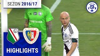 Legia Warszawa - Piast Gliwice 0:0 [skrót] sezon 2016/17 kolejka 04