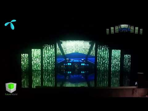 Projection Mapping - Telenor Sales Conference  | +92-300-5706013   +92-333-5020004