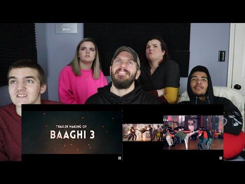 Making Of Baaghi 3 Trailer REACTION! | Tiger Shroff | Shraddha Kapoor