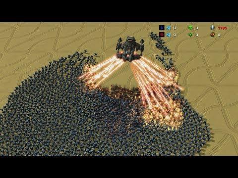 1 BATTLECRUISER vs 3000 MARINES - StarCraft 2 MASSIVE Battles