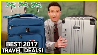 80% OFF Carry On Luggage Review 2017 + Best Flight/Hotel Deals