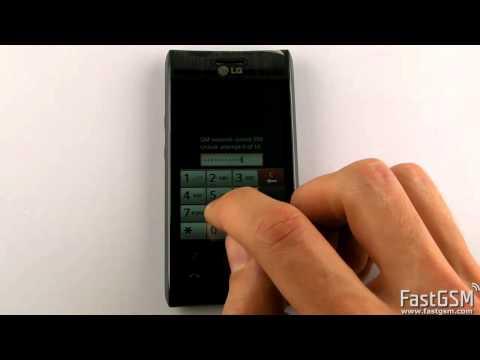 Unlock LG GT540 Optimus