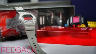 Stance x SNEAKER FREAKER 'RED BACK' x G-Shock collaboration DW-5700SF watch unboxing & review