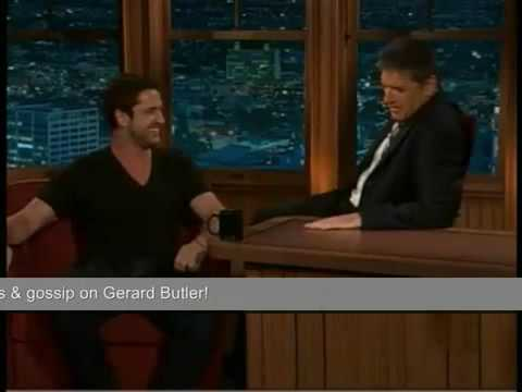 Gerard Butler  on How to Train your Dragon with Craig Ferguson 2009 The Late Late