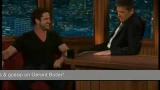 Gerard Butler interview on How to Train your Dragon with Craig Ferguson 2009 The Late Late show