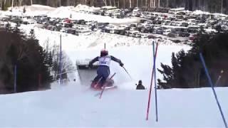 2018 全日本スキー選手権大会 阿寒女子SL 清澤・長谷川・安藤