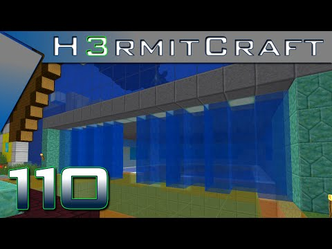 HermitCraft 3 Amplified ~ Ep 110 ~ Cheaty Water Curtain!