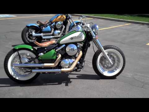 kawasaki vulcan 800 bobber ride hd youtube. Black Bedroom Furniture Sets. Home Design Ideas