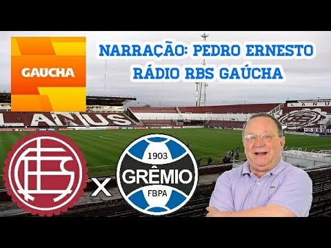 Lanus 1 X 2 Gremio Pedro Ernesto Radio Gaucha Libertadores 29 11 2017 Youtube