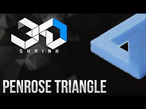 Penrose triangle - 3D Printing Time-lapse