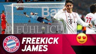 James' Last Minute Beauty Secures the Win vs. Leverkusen! ⚽ 😍