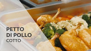 Un gustoso petto di pollo. | Cotto nel SelfCookingCenter®  RATIONAL.
