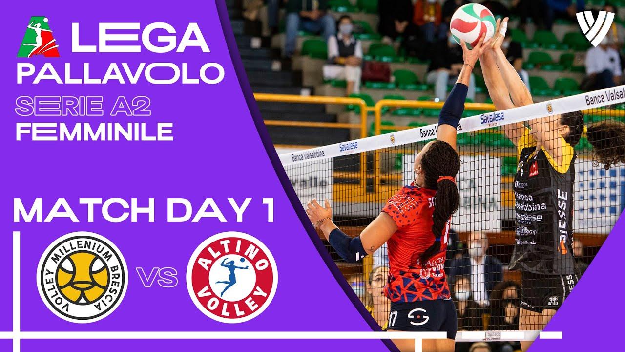 Brescia vs. Altino Volley -  Full Match   Women's Serie A2   2021