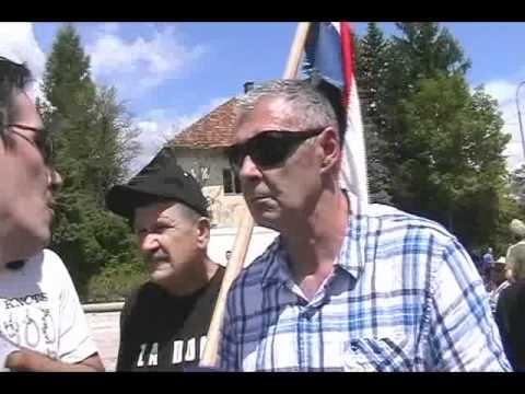 gen Željko Glasnović u Srbu - intervju