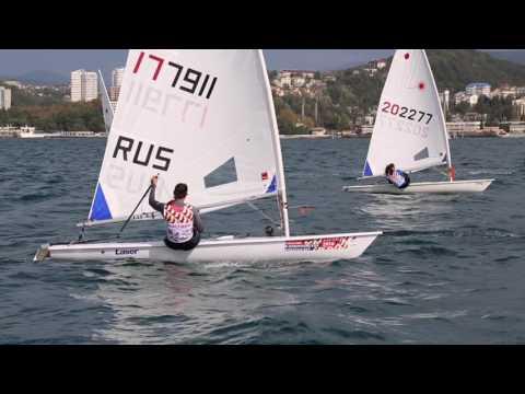 Медальная гонка в классе Лазер радиал. Чемпионат России в олимпийских классах яхт