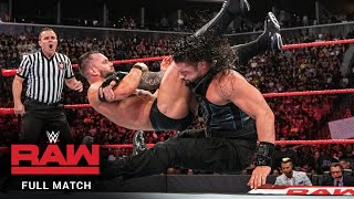 FULL MATCH: Roman Reigns vs. Finn Bálor – Universal Title Match: Raw, August 20, 2018