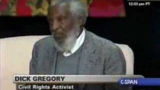 Dick Gregory at State of Black Union 08 Pt.1