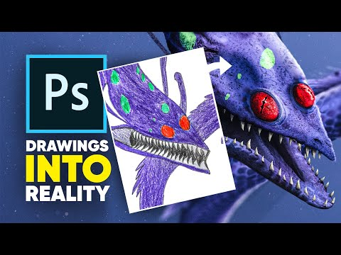 photoshopping-your-drawings!- -realistified!-s1e1