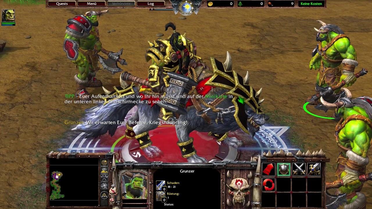 Warcraft 3 HD Remake (Reforged) Gameplay German #01 - YouTube