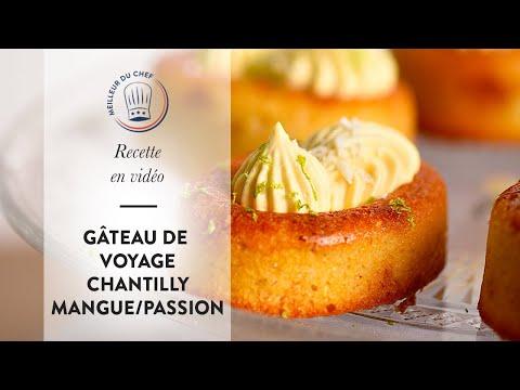 recette-en-vidéo-:-le-gâteau-de-voyage-citron-amandes-caramélisées-et-sa-chantilly-mangue-passion-!
