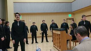 """Hol' You Han'"" by Paul Rardin at the 2018 WIAA/WMEA State Solo Ens..."