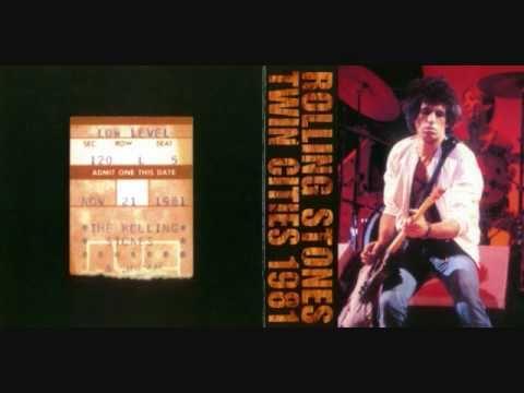 Rolling Stones - Live 1981 - St Paul