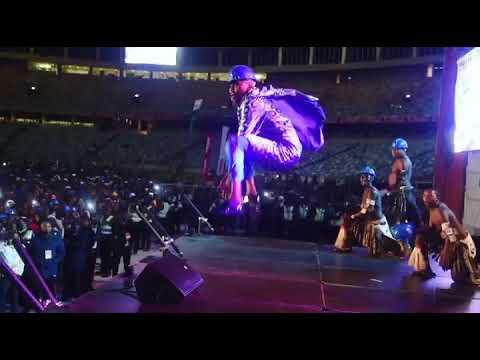 Download Khuzani KING Khuba live performance at Impucuzeko Maskandi Festival 2019 at Moses Mabhida stadium