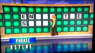 My hilariously horrible incident on Wheel of Fortune