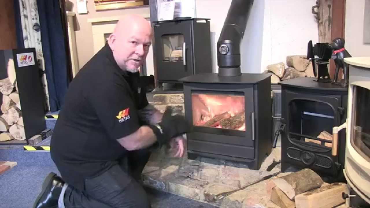 lighting a wood burning stove youtube. Black Bedroom Furniture Sets. Home Design Ideas
