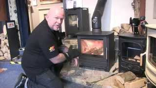 Lighting  A Wood Burning Stove