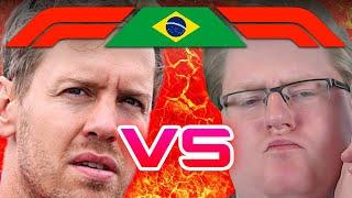 Piet vs. Vettel | Brasilien 2/2 🎮 F1 2017 S2 #36