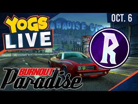 Burnout Paradise w/ Rythian - 6th October 2017