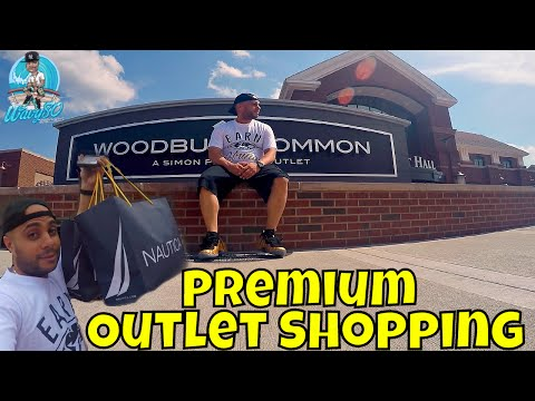 Premium Outlet Shopping | Nautica Was Poppin!!!