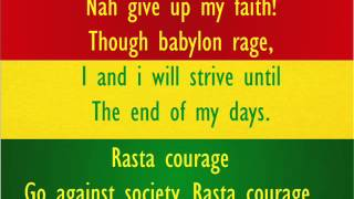 Rasta Courage - S.O.J.A - With Lyrics