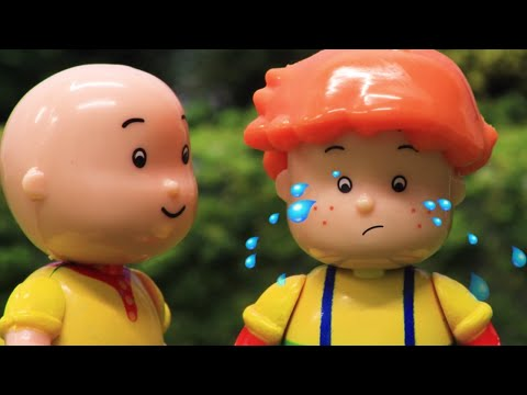 Thumbnail: Funny Animated cartoons Kids | Leo's Birthay | WATCH ONLINE | Caillou Stop Motion
