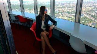 Скачать Останкинская башня Ресторанный комплекс Седьмое небо