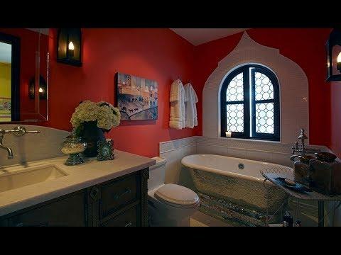 Modern Moroccan Inspired Bathrooms Youtube