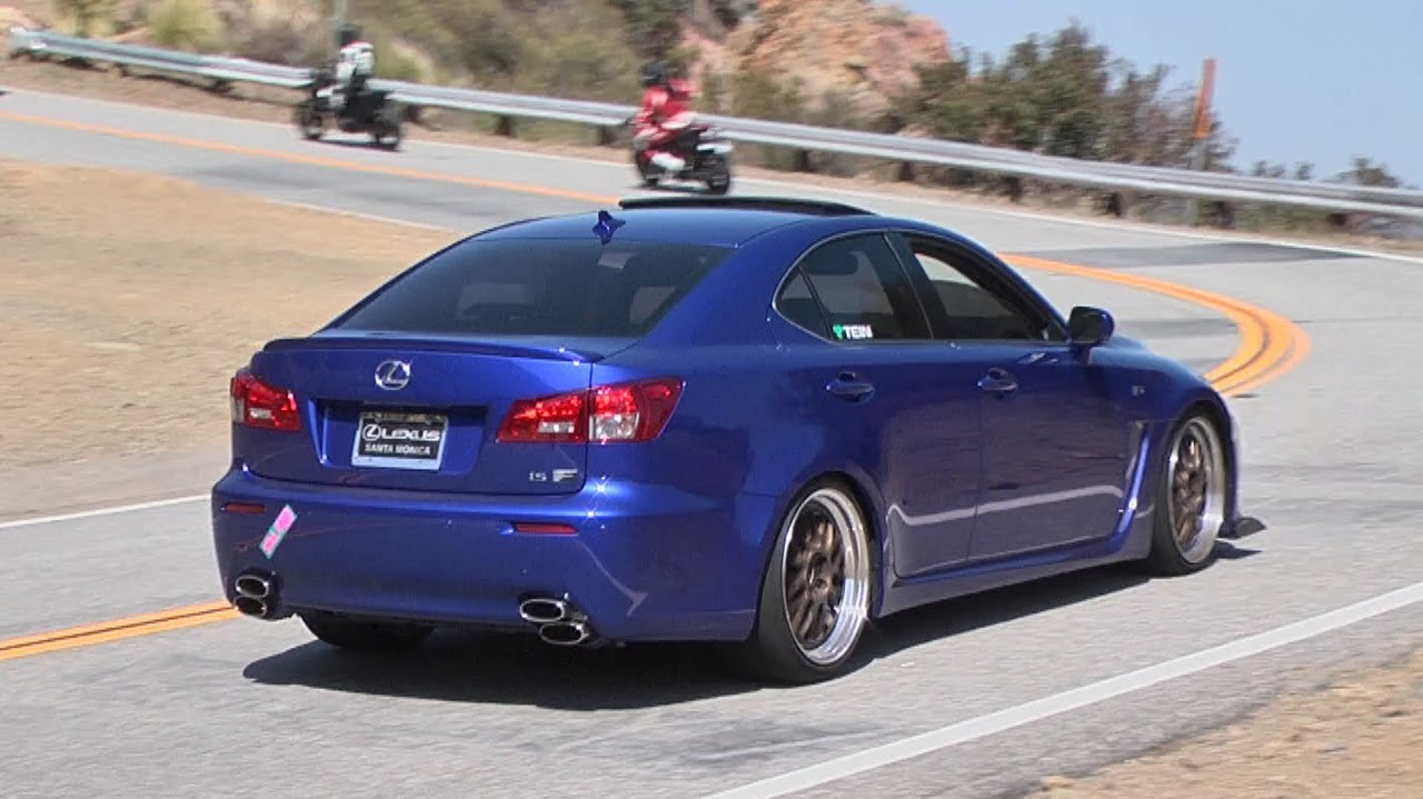 turbo lexus is f on mulholland highway youtube. Black Bedroom Furniture Sets. Home Design Ideas