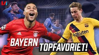 CL TALK: 'Bayern Met Gnabry Nieuwe Topfavoriet & Frenkie De Jong Verzuipt Bij Barca!'