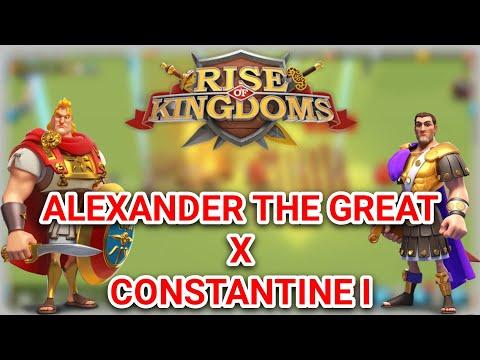 Test Commander Alex Constantine Max Expertise (3 Battle) - Rise Of Kingdoms