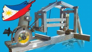 DIY Miter Saw With Angle Grinder