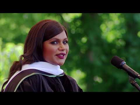Dartmouth's 2018 Commencement Address by Mindy Kaling=