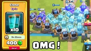 Sparky Flood in Clash Royale | Funny & Troll Moments | Mirroring the Clone Spell