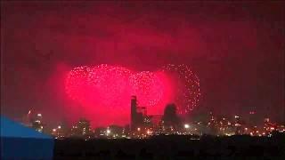 포항불빛축제 마지막날/허리수품바 단체난타공연&보…