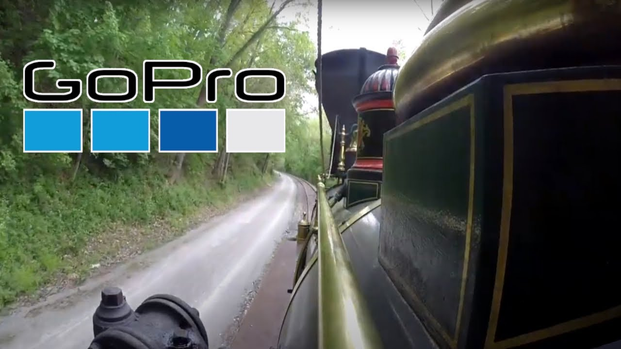 GoPro View at Steam Into History