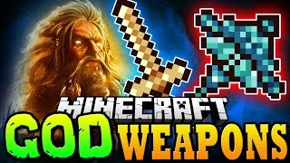 "Minecraft Mod | GOD WEAPONS MOD - ""EPIC WEAPONS OF GLORY"" - Minecraft Mod Showcase"